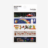 Dailylike Retro masking seal paper deco sticker set