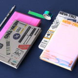 Wanna This Clear and decoration dateless weekly planner