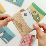 Monologue daily flat card case holder