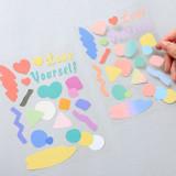 PLEPLE Point up removable paper sticker