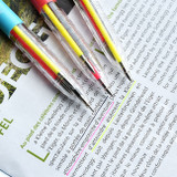Usage example - Play Obje 3way topic neon multi ballpoint pen