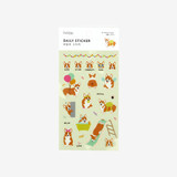 Package for Daily transparent deco cute sticker - Welsh corgi