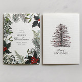 DBD Botanic Christmas card with envelope