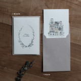 Option - DBD Cotton 2 Christmas card with envelope