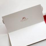DBD Santa Village Christmas card with envelope