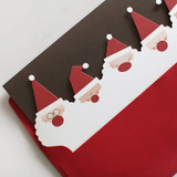 DBD Santa Village Christmas card with envelope