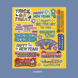 Celebrate  - Ardium Message colorful point paper sticker