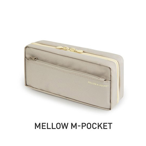 Monopoly Mellow M-pocket zipper pencil case pouch