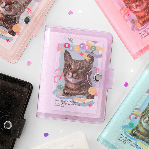 2NUL Glitter Instax mini slip in pocket small photo album