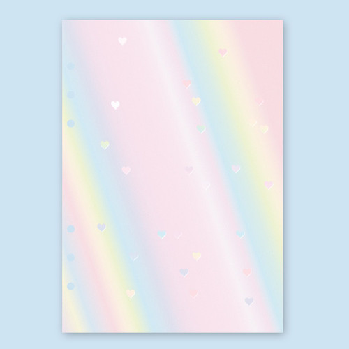 Second Mansion Rainbow 6-ring A5 blank notebook refill