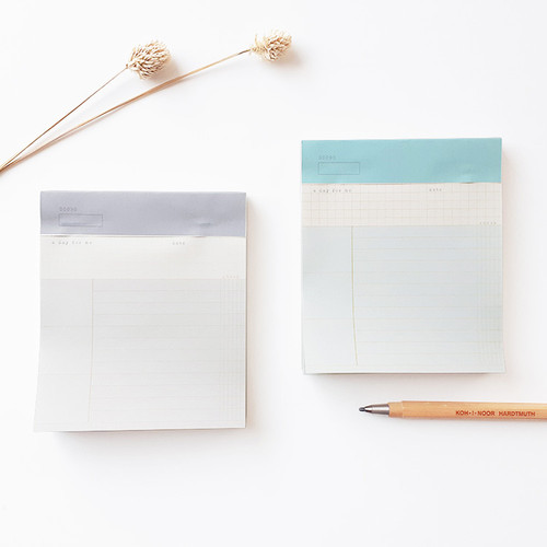 O-CHECK Checklist perforated writing notepad 90 sheets