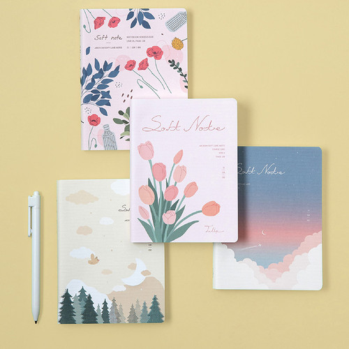 Ardium Soft small lined notebook 128 pages