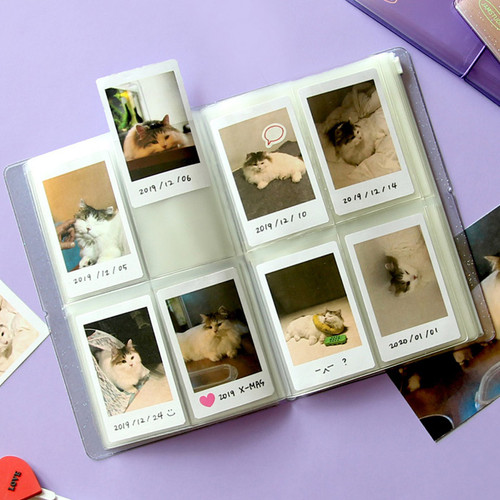 Jam Studio Moa Moa slip in pocket photo name card album