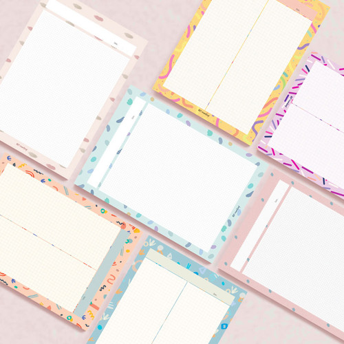 Oh-ssumthing O-ssum B5 size grid memo notes notepad