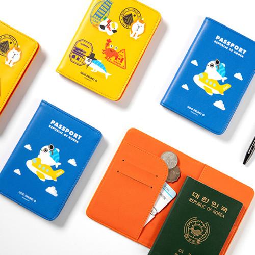 DESIGN IVY Ggo deung o RFID blocking passport case ver2