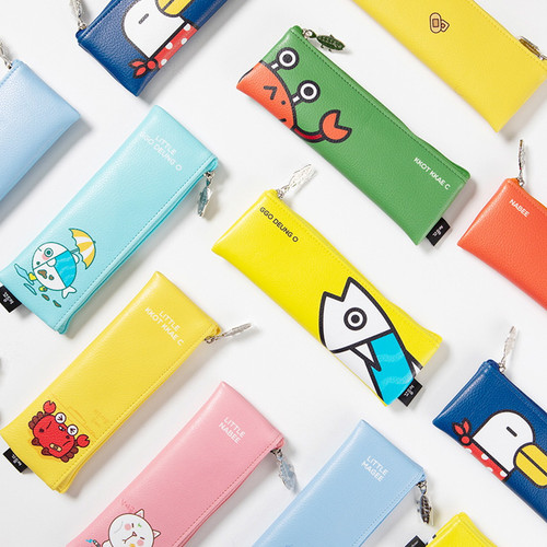 DESIGN IVY Ggo deung o friends zipper pencil case ver2