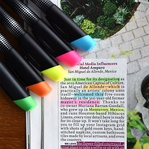 Play Obje Shine color neon pen highlighter