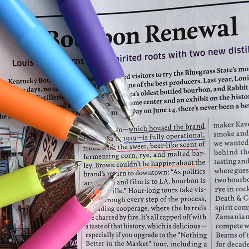 Play Obje 5 ways neon and basic color multi ballpoint pen