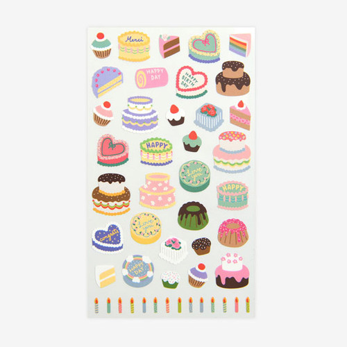 For your heart paper adhesive sticker - Cake