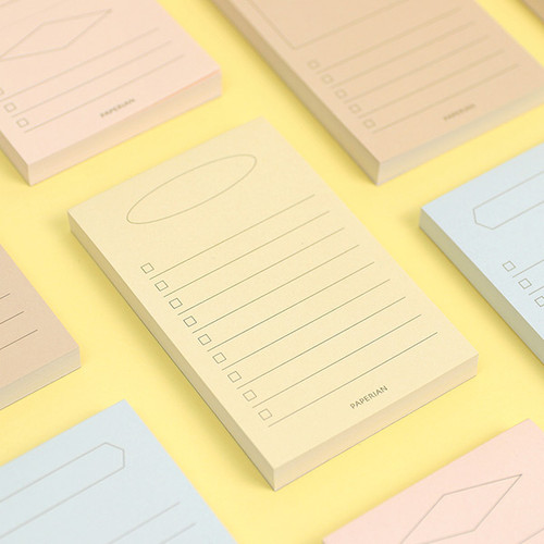 PAPERIAN Make a memo my checklist notepad