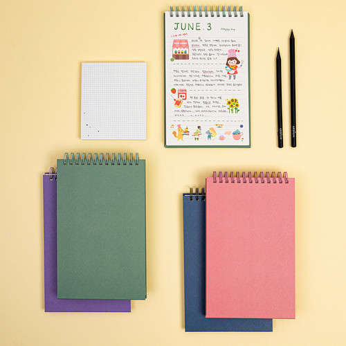 Ardium Color large spiral bound lined notepad
