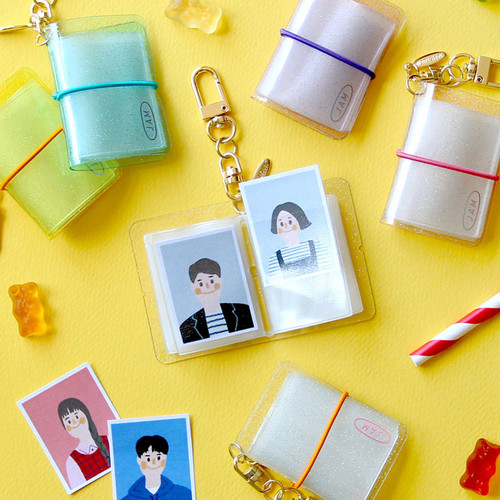 Jam Studio Moa Moa slip in pocket mini album keyring