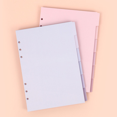 PAPERIAN Index loose-leaf binder paper 6-ring A5 size refill