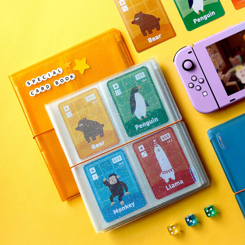 Jam Studio Moa Moa slip in pocket game card book album