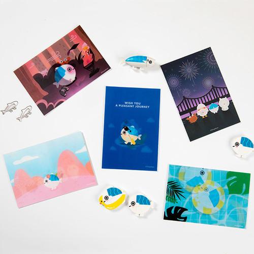 DESIGN IVY Ggo deung o lenticular postcard