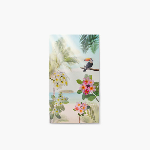 Appree Tropical day nature scene sticker set