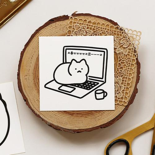 NACOO Choor cat removable sticker set