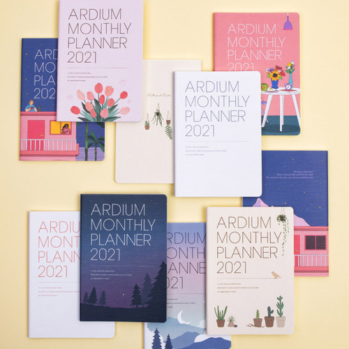 Ardium 2021 dated monthly planner scheduler