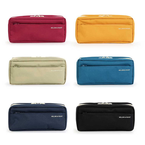 Monopoly Mellow M-pocket zipper pencil case pouch ver2
