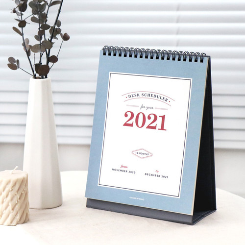 ICONIC 2021 Simple desk scheduler calendar