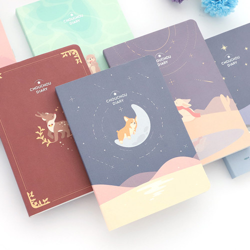 PLEPLE 2021 Chou Chou dated weekly planner scheduler