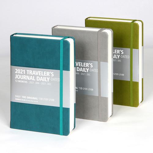 MINIBUS 2021 Traveler's dated daily diary scheduler