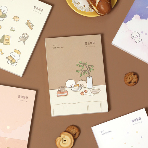 Dash And Dot 2021 Mongle Mongle dated weekly diary planner