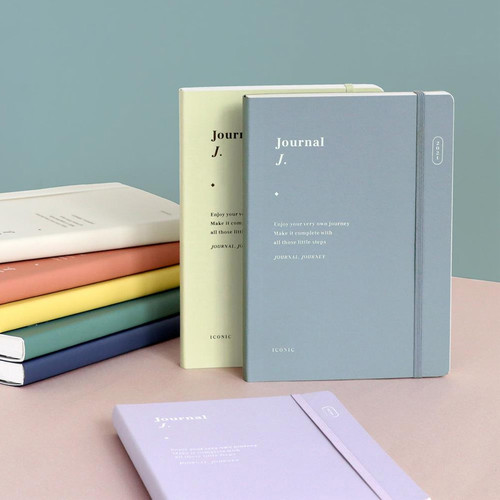 ICONIC 2021 Journal Journey dated weekly diary planner