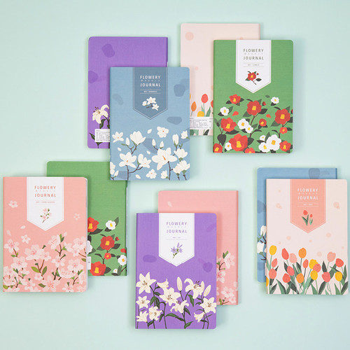 Ardium 2021 Flower dated weekly diary planner