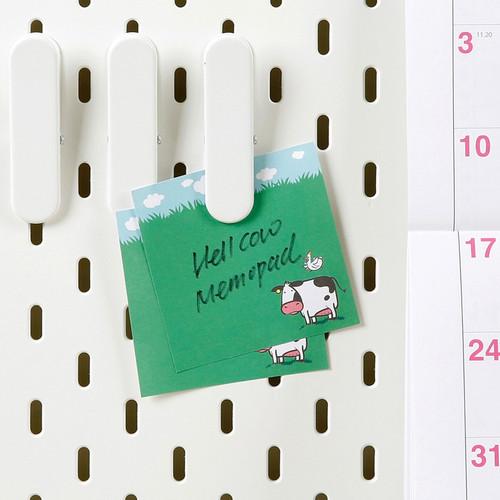 Chachap Hello cow memo notepad 100 sheets