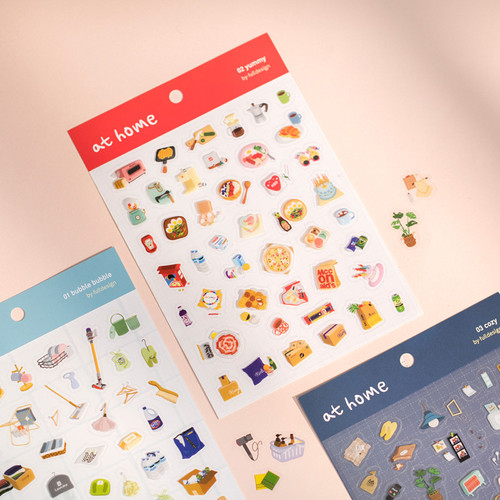 Byfulldesign At home useful deco sticker sheet set