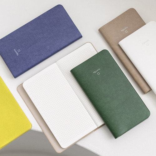 Byfulldesign Notable memory slim and handy grid notebook