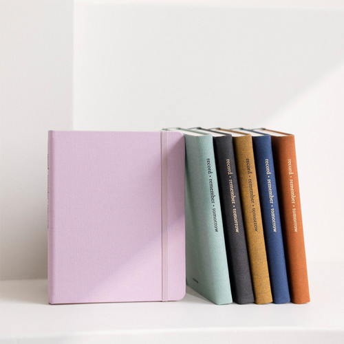 Byfulldesign Making memory small and wide lined notebook