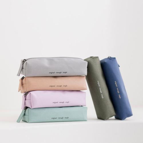 Byfulldesign Oxford super single zipper pencil case ver5
