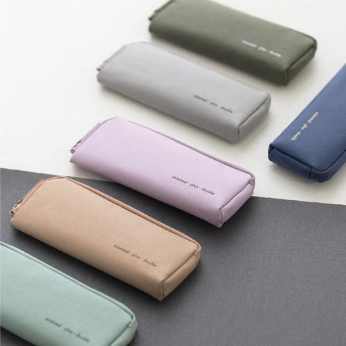 Byfulldesign Oxford double zipper pencil case ver5
