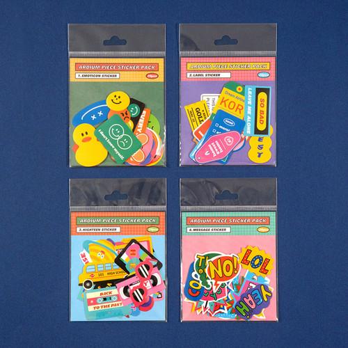 Ardium 20 Pieces paper sticker pack
