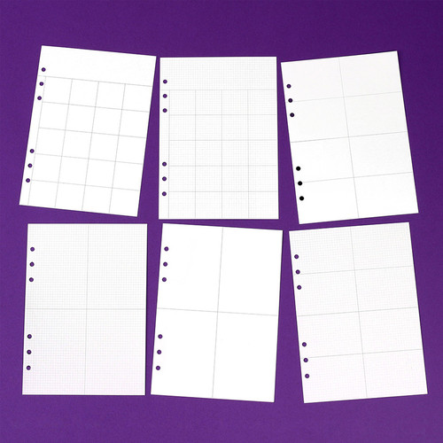 Wanna This Diary refill papers for A5 size 6 ring binder