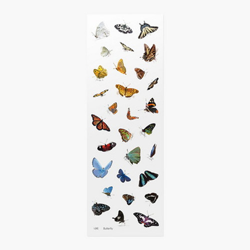 Appree Butterfly nature clear sticker