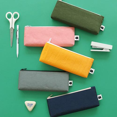 Mungunyang flat zipper pencil case
