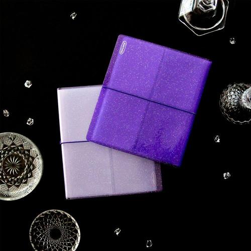 Purple Instax Square Slip In Pocket Photo Album